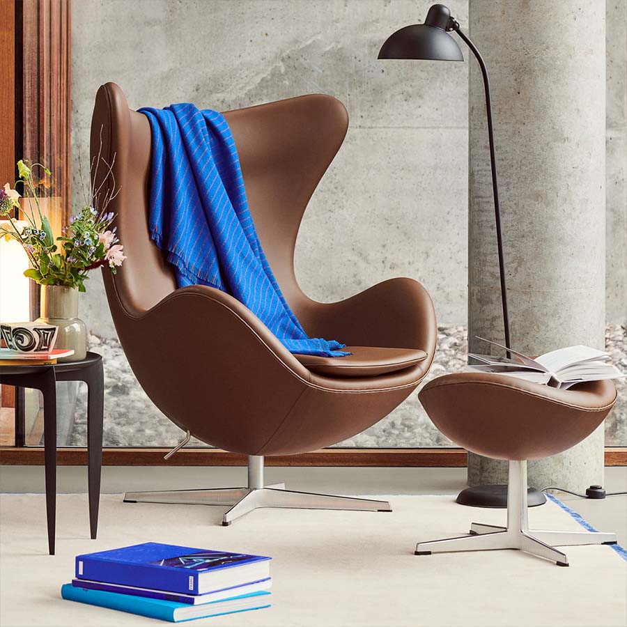Papillon Interiors Black Friday 2020 Lounge Chairs - Fritz Hansen Egg Chair & Footstool