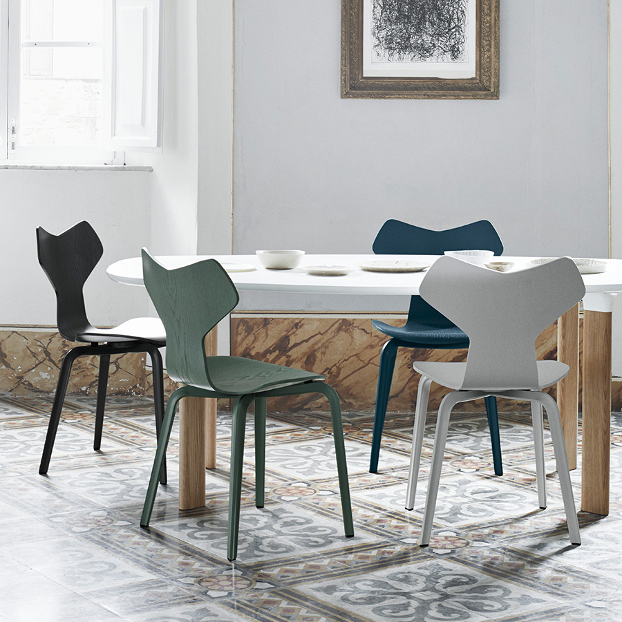 Papillon Interiors Black Friday 2020 Dining Chairs - Fritz Hansen Grand Prix Chairs
