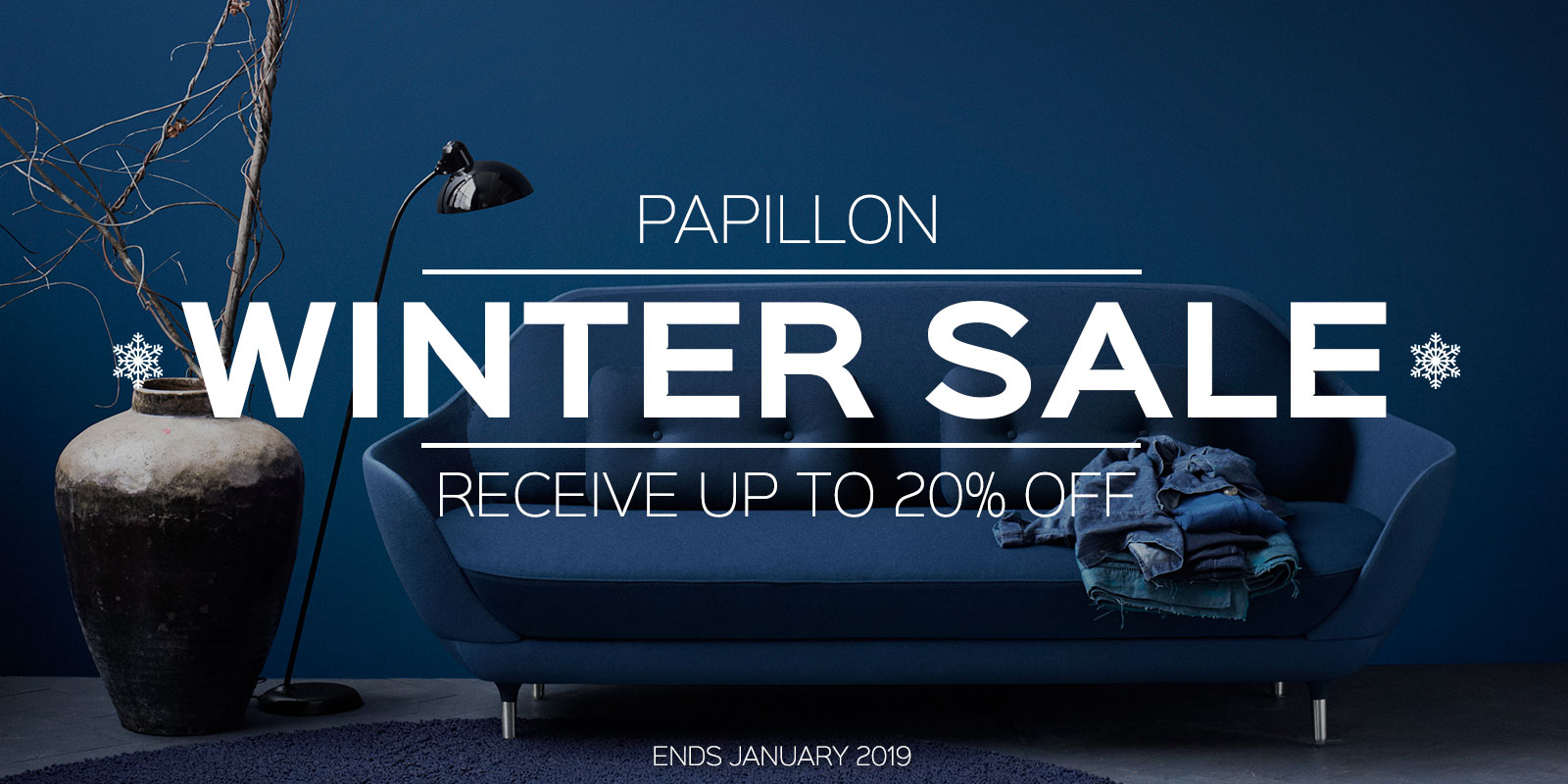 Papillon Interiors Winter Sale 2018