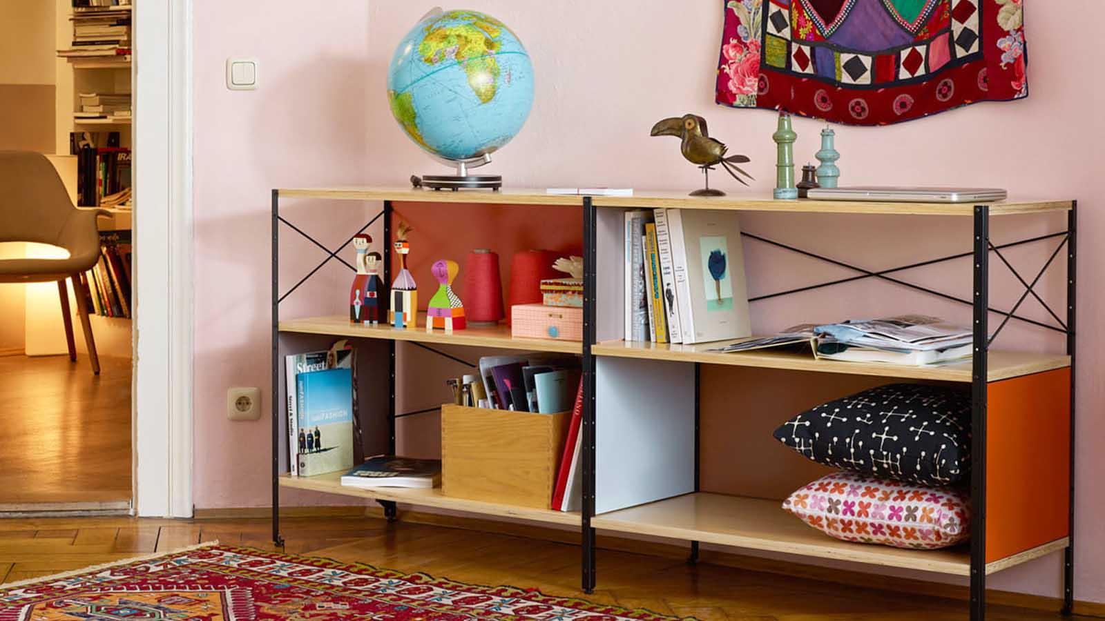 vitra eames ESU storage unit lifestyle image