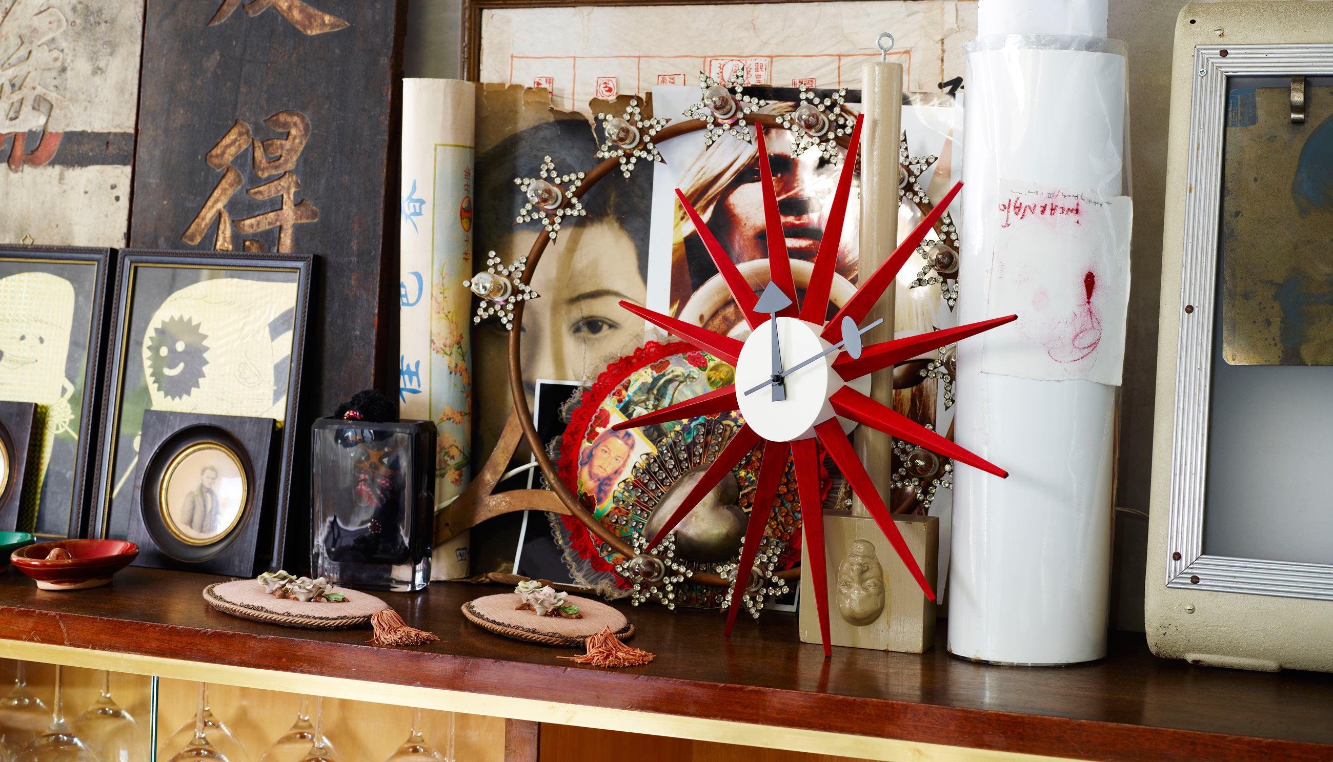 bed3812079f8 Vitra Sunburst Clock by George Nelson