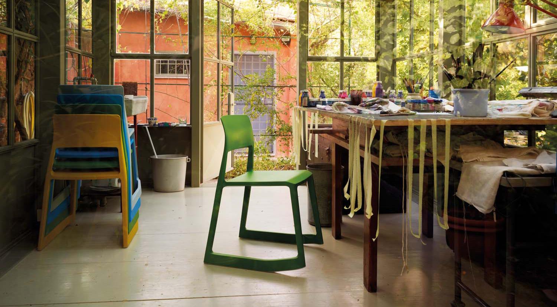 Vitra Tip Ton Chairs Lifestyle