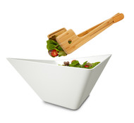 Black + Blum Salad Bowl + Servers / Tongs