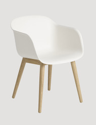 Muuto Fiber Armchair Wood Base