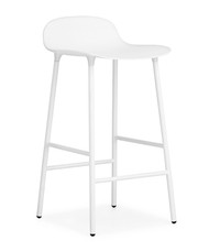 CLEARANCE Normann Copenhagen Form Barstool in White