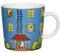 Finland Arabia Moomin Mug, Moomin House- Blue