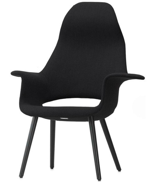 Vitra Organic Highback Chair - Front Angle View