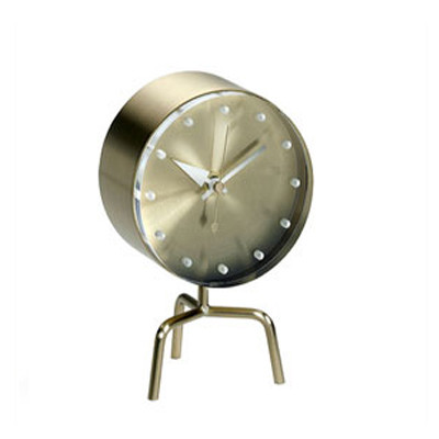 Vitra Tripod Clock Desk Clock by George Nelson at Papillon Interiors