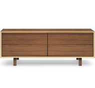 Cherner 4 Drawer Low Credenza
