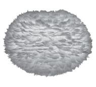 Vita Eos Large Light Grey Feather Pendant