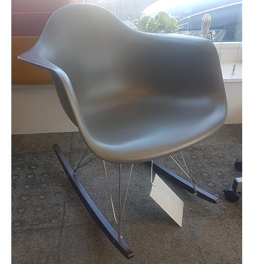 clearance vitra eames rar rocking chair basalt dark maple