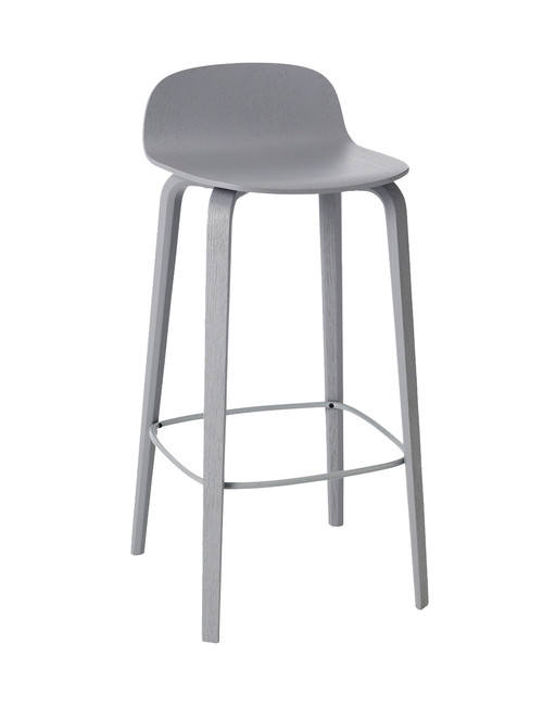 Ex Display Muuto Visu Bar Stool - Grey