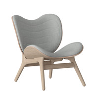 Umage A Conversation Piece Armchair Silver Grey and Oak
