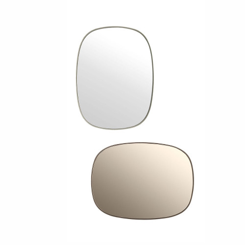 Muuto FRAMED Mirrors Small Grey & Taupe
