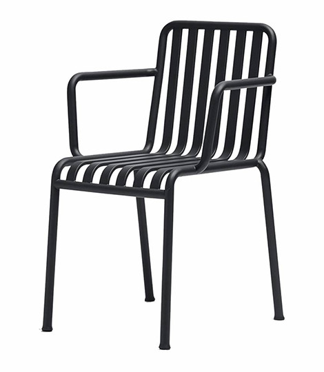HAY Palissade Armchair - Soft Black