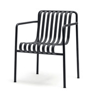 HAY Palissade Dining Armchair - Anthracite