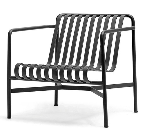 HAY Palissade Lounge Chair Low - Anthracite