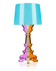 Kartell Bourgie Table Lamp - Multicoloured Light Blue