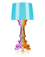 Kartell Bourgie Table Lamp - Multicoloured Light Blue