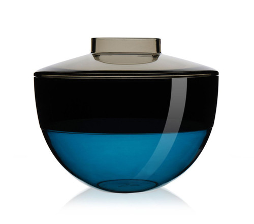 Kartell Shibuya Vase Grey/Smoke/Blue