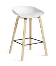 CLEARANCE HAY About A Stool AAS 32 - Low / White