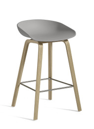 CLEARANCE HAY About A Stool AAS 32 - Low / Concrete Grey