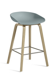 CLEARANCE HAY About A Stool AAS 32 - Low / Dusty Blue