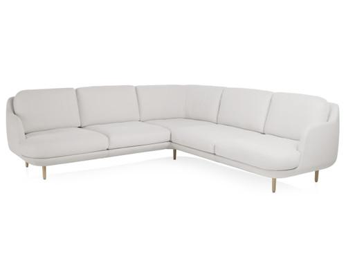 Fritz Hansen 5 Seater Lune Corner Sofa