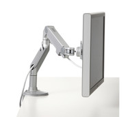 Humanscale M8 Single Monitor Arm Grey with Silver Trim