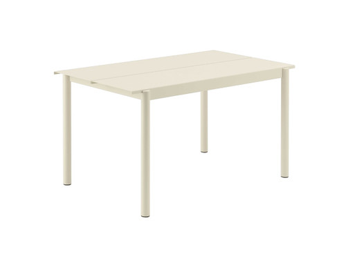 Muuto Linear Steel Table 140cm White