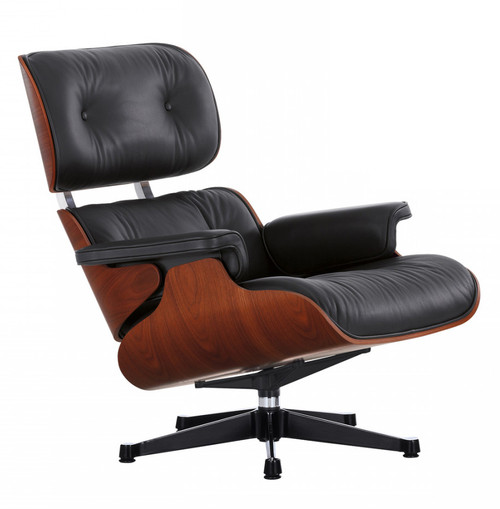 Limited Edition Vitra Eames Lounge Chair - Mahogany