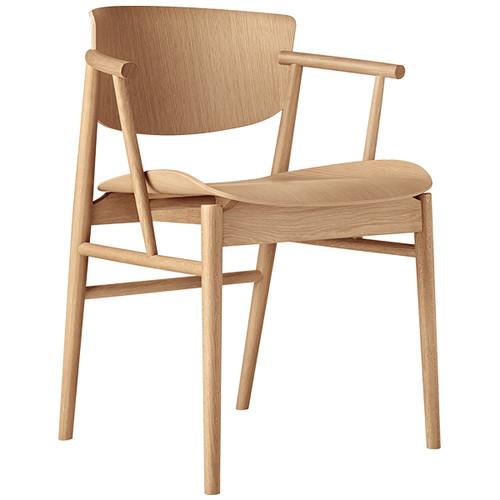 Fritz Hansen N01 chair oak