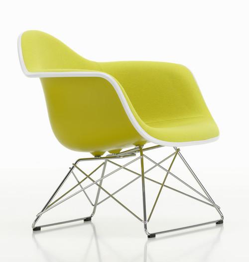 Vitra Eames Plastic Lounge Armchair LAR Fully Upholstered