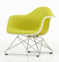 Vitra Eames Plastic Lounge Armchair LAR Fully Upholstered