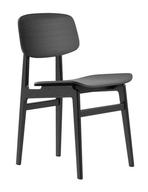 Norr11 NY11 Dining Chair Black Oak