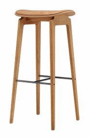 Norr11 NY11 Bar Stool - Vintage Leather