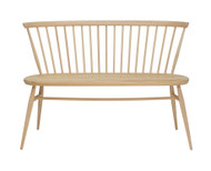 Ercol Originals Love Seat - Front View