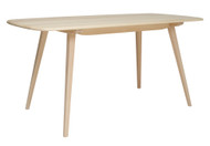 Ercol Plank Dining Table - Angle View
