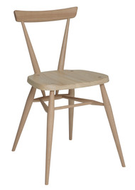 Ercol Originals Stacking Chair Front Angle View