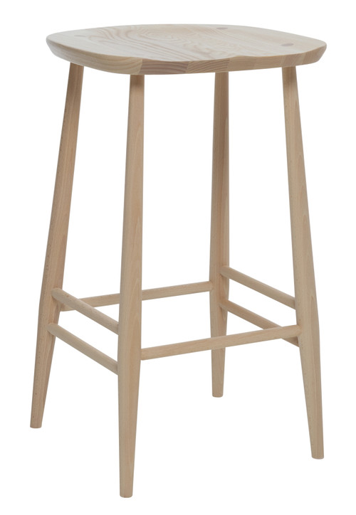 Ercol Originals Counter Stool Front Angle View