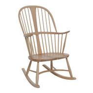 Ercol Originals Chairmakers Rocking Chair - Front Angle View