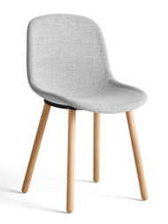 HAY Neu 12 Chair Upholstered - Remix 0123, Matt Lacquered Solid Oak