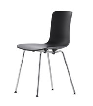 CLEARANCE Vitra Hal Tube Chair - Basic Dark & Chrome