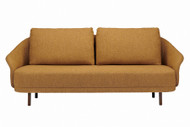 Norr11 New Wave 2 Seater Sofa - Barnum Mustard