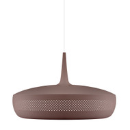Umage Clava Dine Pendant - Umber with White Cordset