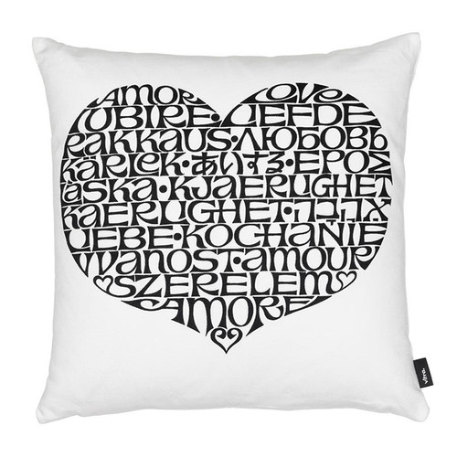 Vitra Graphic Print Pillow - International Love Heart