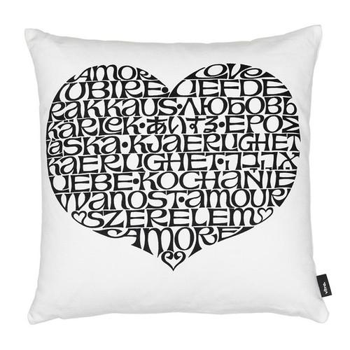 Vitra Graphic Print Pillow - International Love Heart