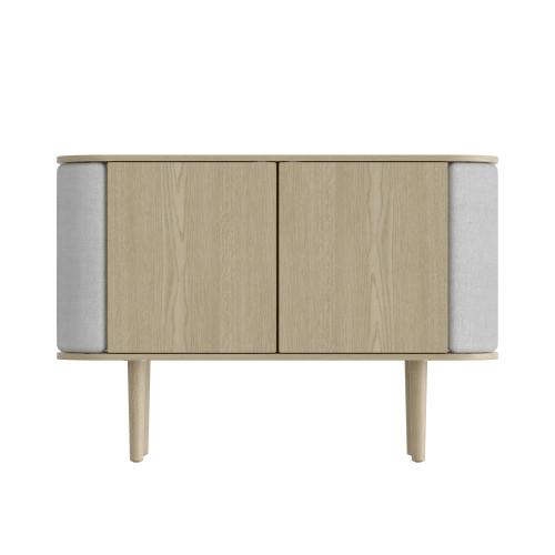 Umage Treasures Cabinet - 2 Door - Oak / Silver Grey