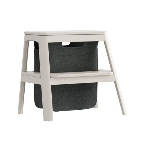 Umage Step It Up Stepping Stool - Pearl White