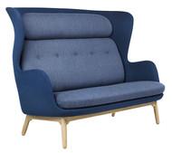 Fritz Hansen Ro 2 Seater Sofa - Christianshavn Fabric